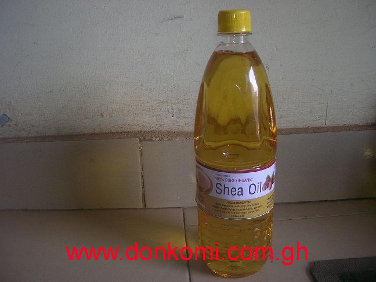 ORGANIC SHEA OIL OR ORGANIC SHEA BUTTER OIL