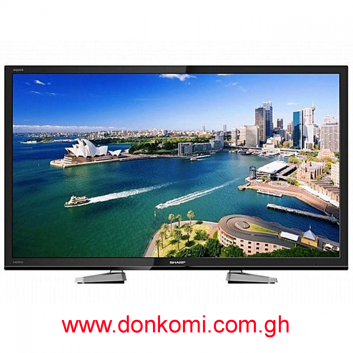 "Sharp 40"" Digital Satellite LED TV - LC-40LE458X"