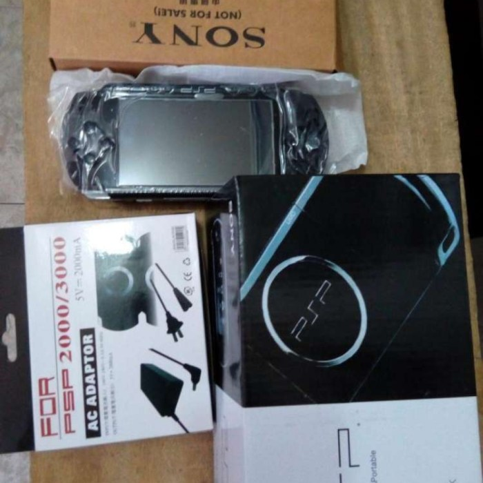 Brand-new PSP+45games