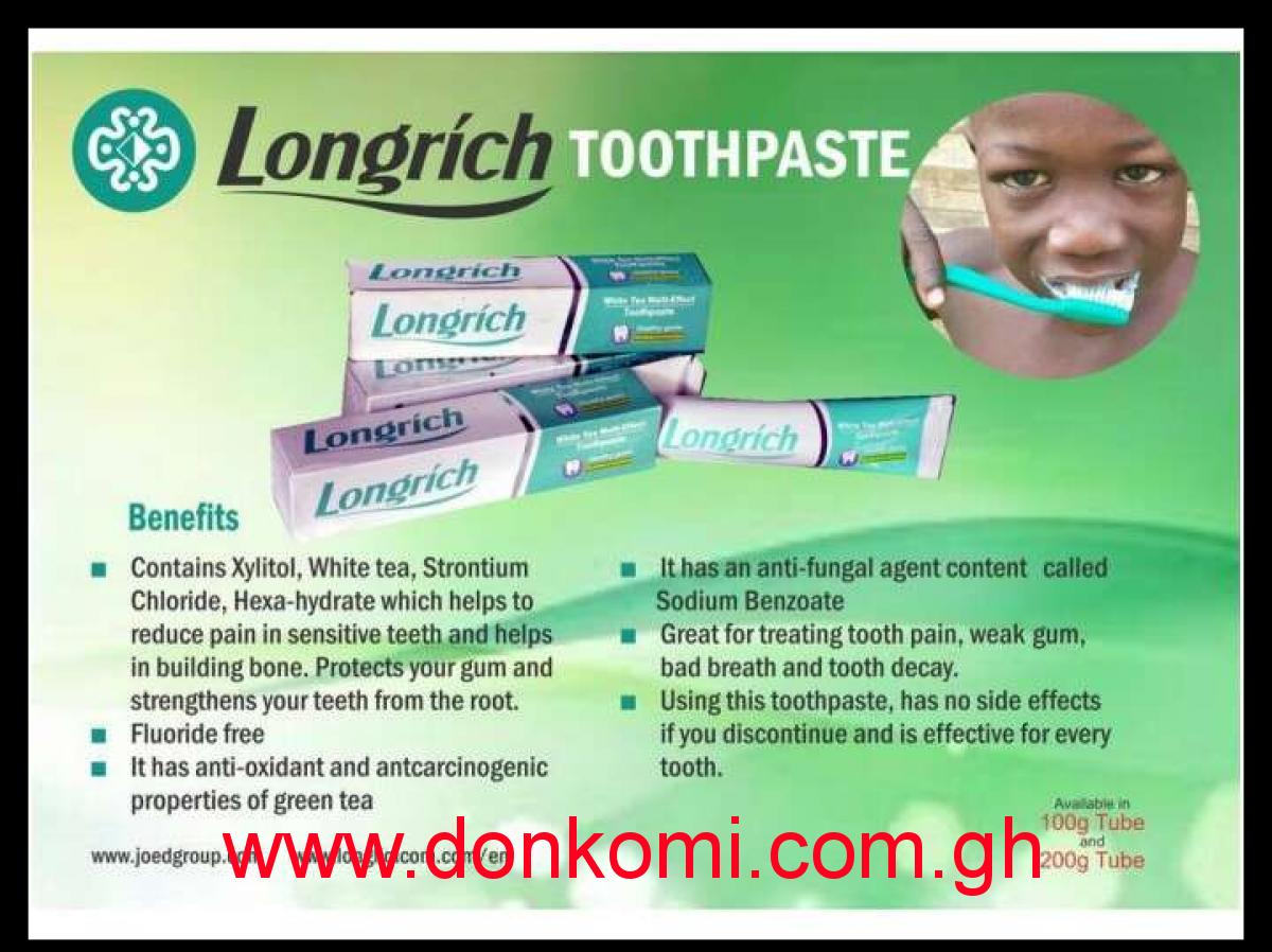 Non-fluoride Toothpaste