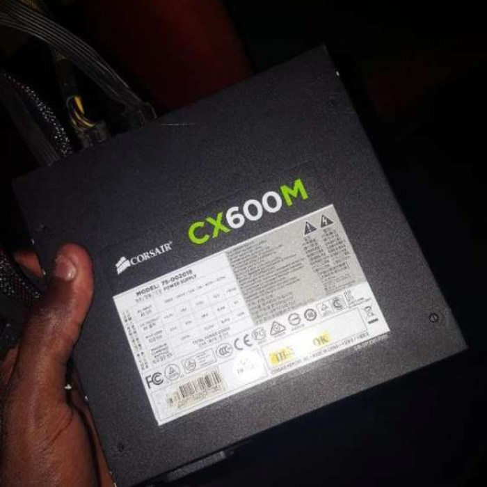 COSAIR CX 600M Modular 80plus PSU