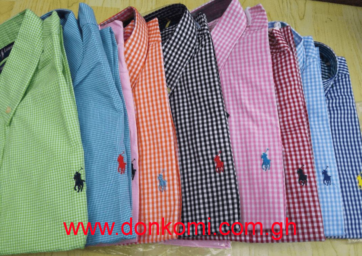 POLO SHIRTS (CHEQUERED)