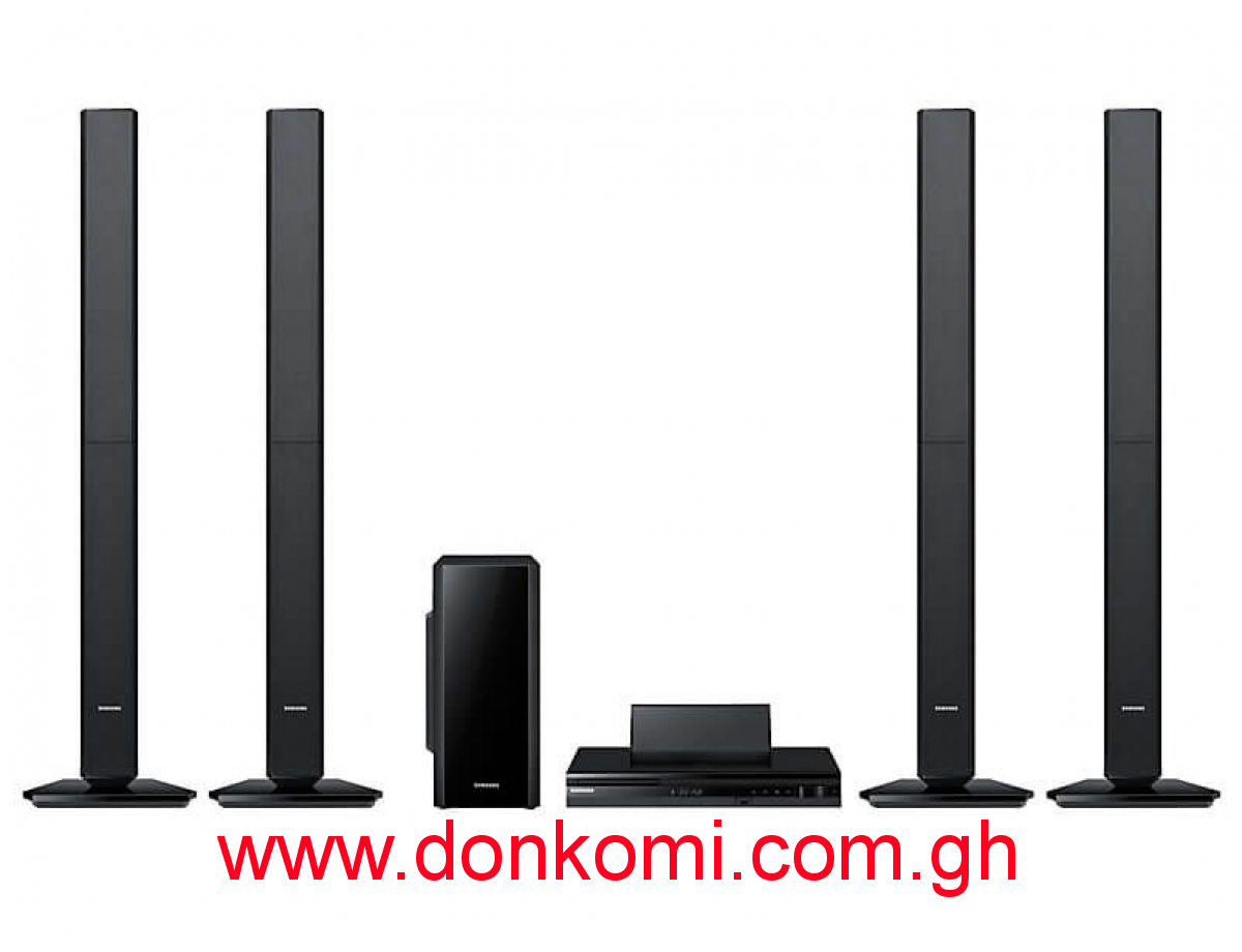 SAMSUNG HOME THEATER TALL SPEAKERS (HT-F455)