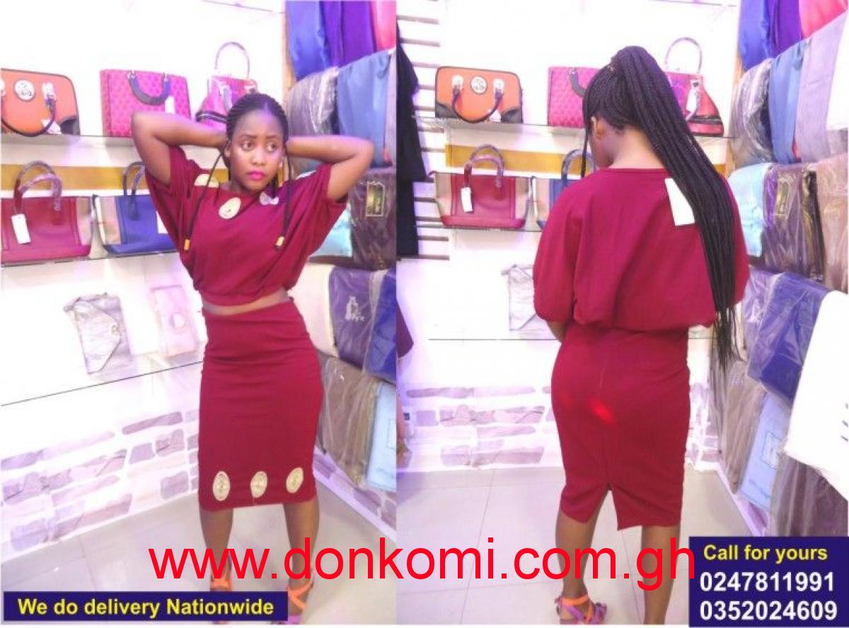 Straight dresses