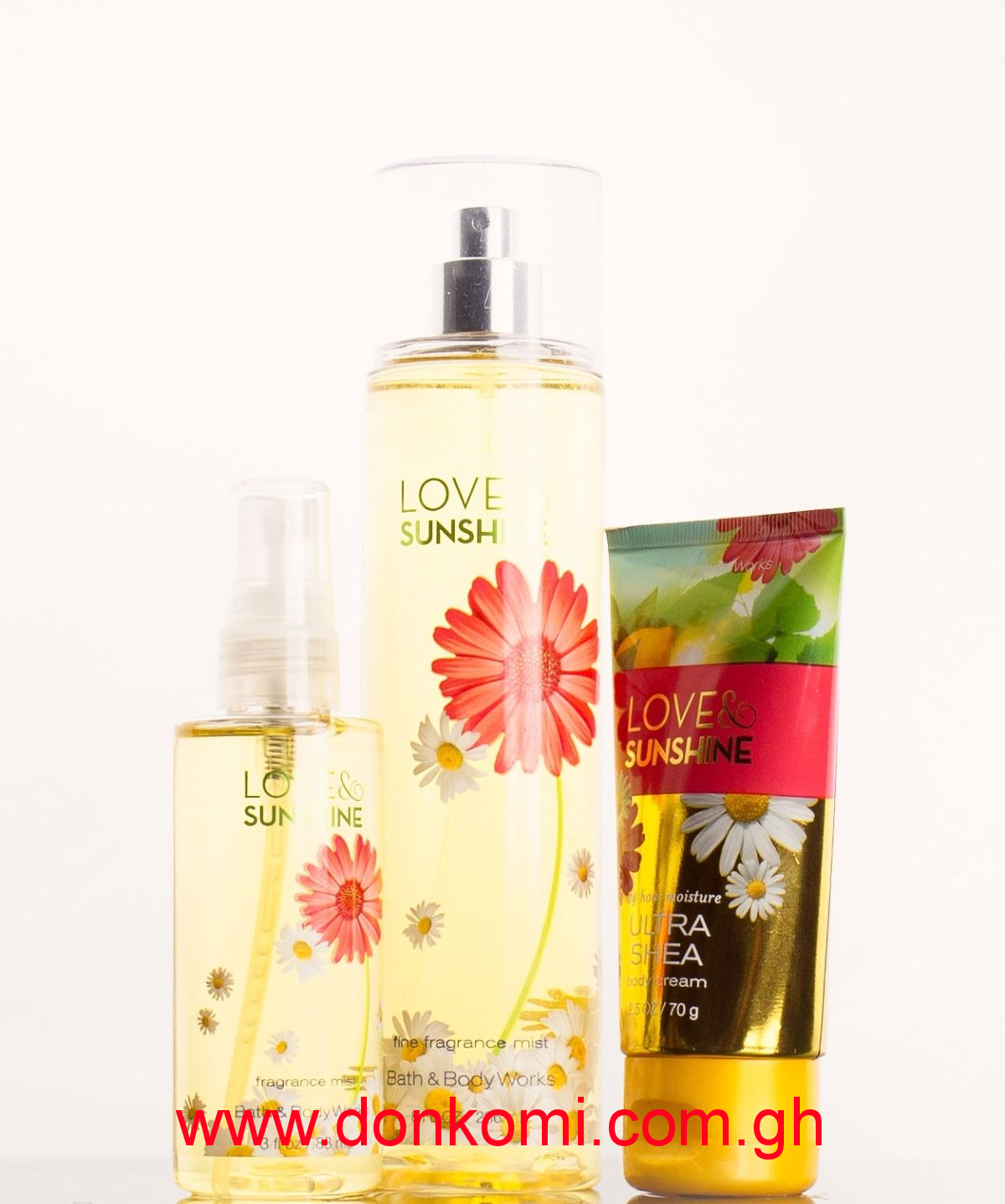 LOVE AND SUNSHINE BODY SPLASH