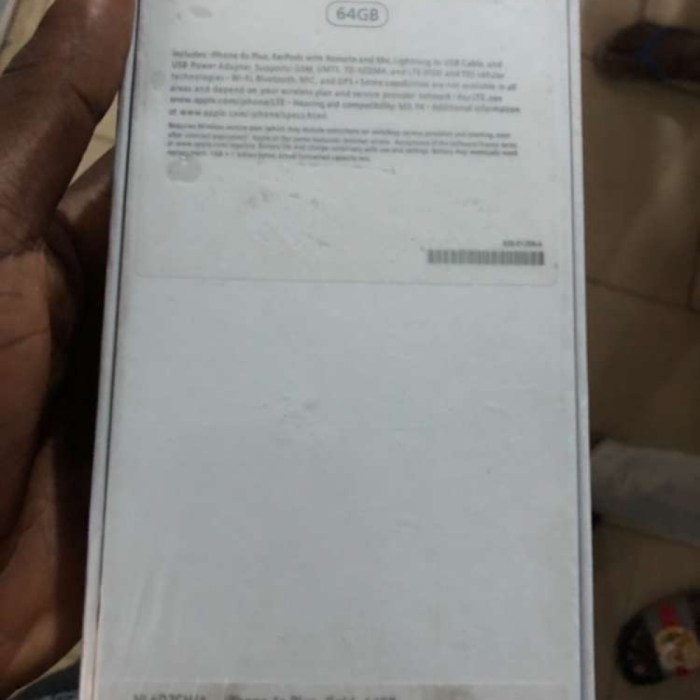 IPhone 6splus 64gig sealed in box