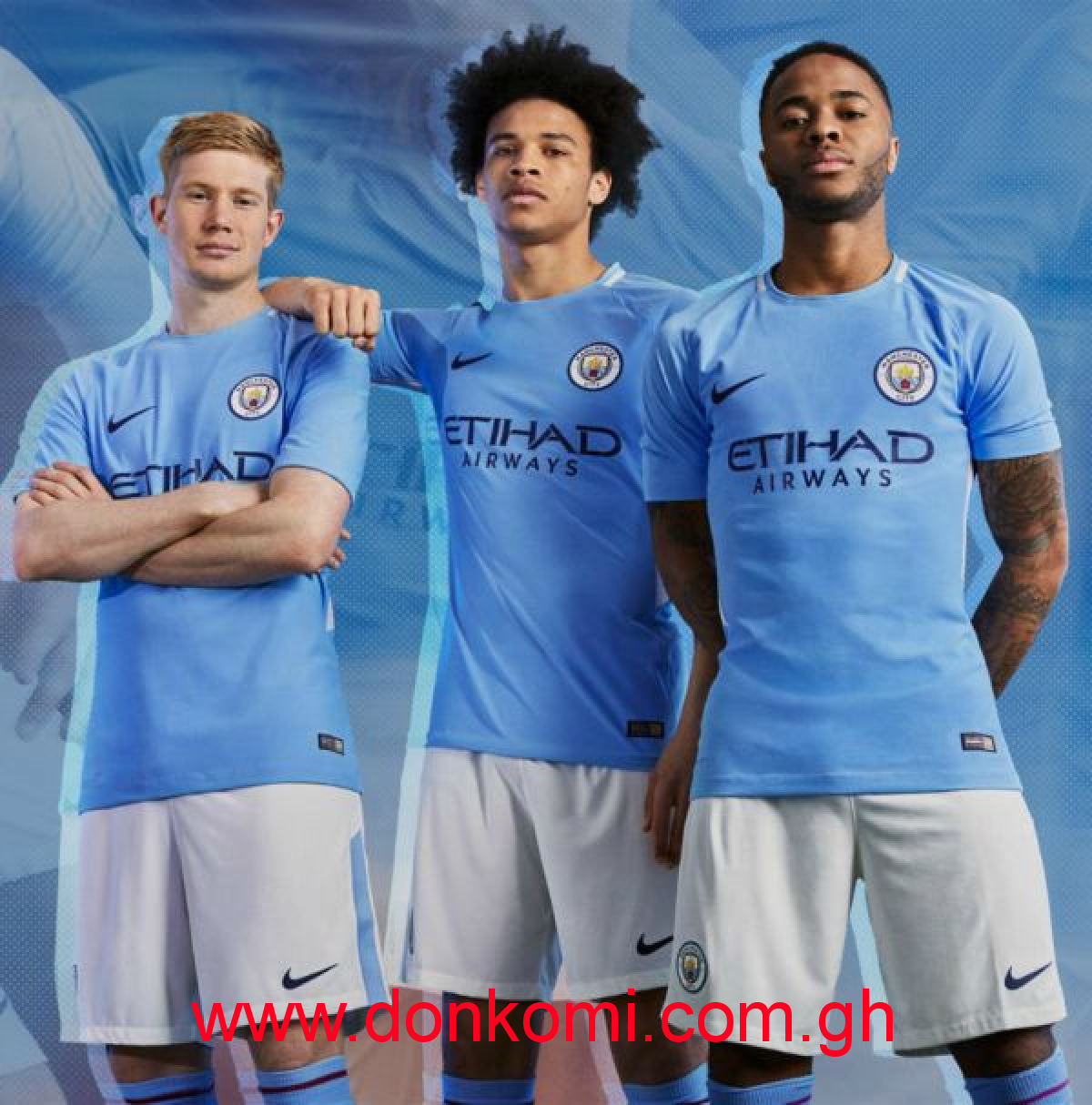 MANCHESTER CITY HOME JERSEY (2017/2018)