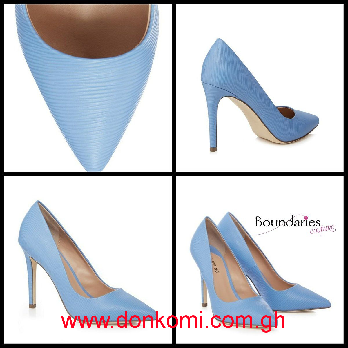 LIGHT BLUE STILETTOS
