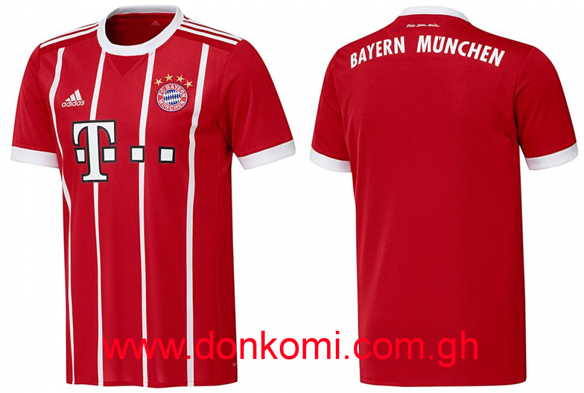 BAYERN MUNICH HOME JERSEY (2017/18)
