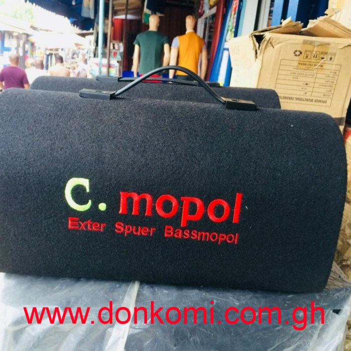 C. Mopol extra bass portable speaker