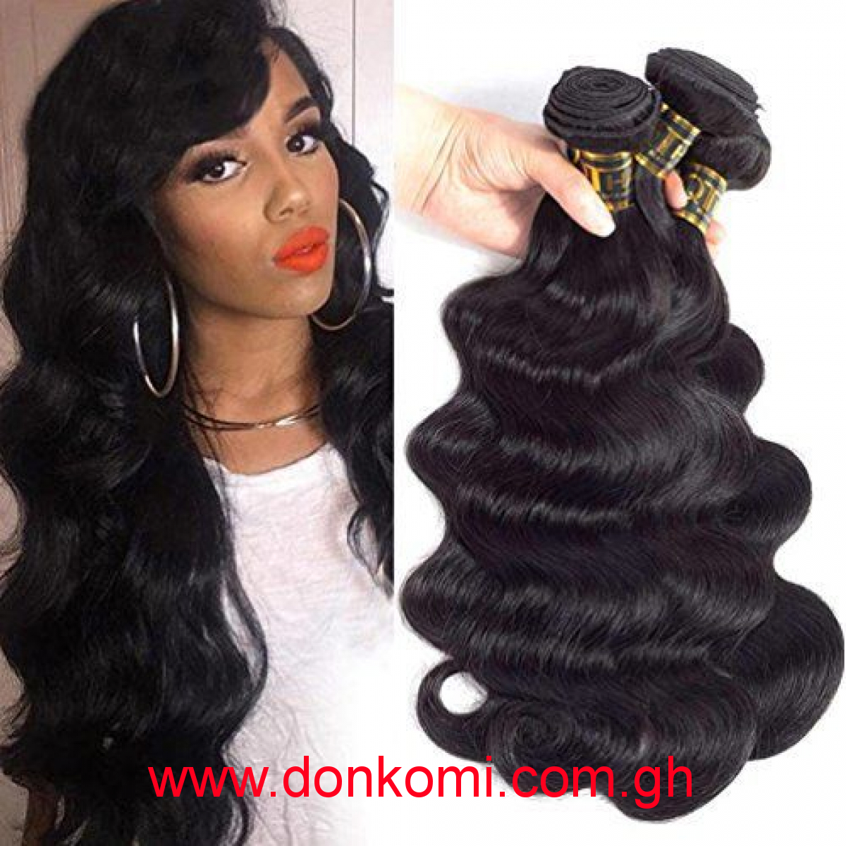 Raw virgin Peruvian grade 10A 28""