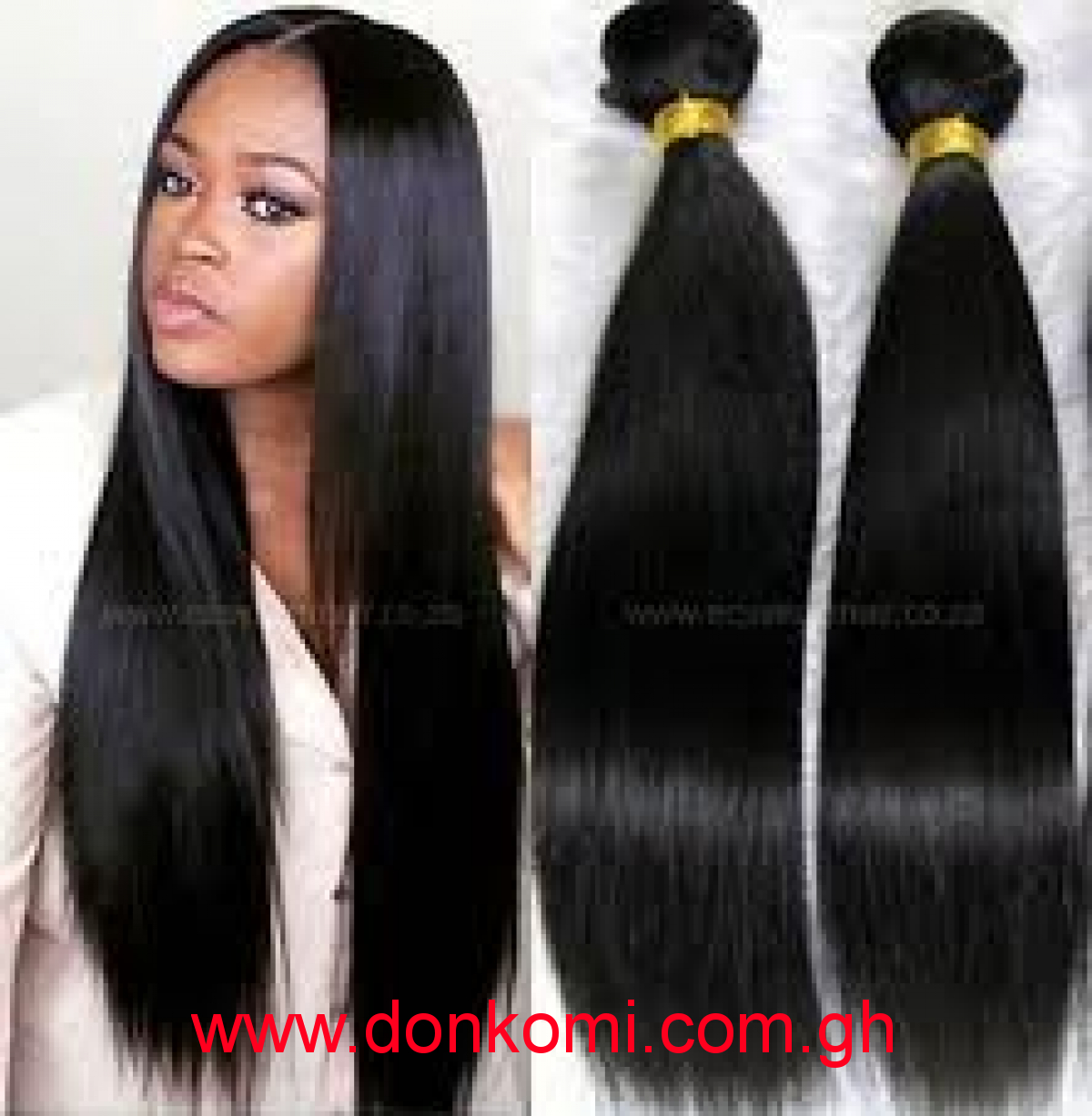 Filipino grade 10A hair pieces 18""