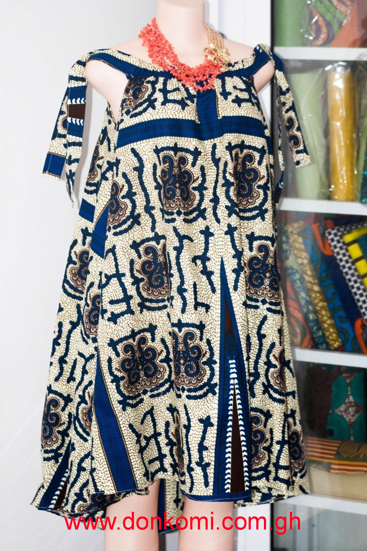 Affordable African print  Dress