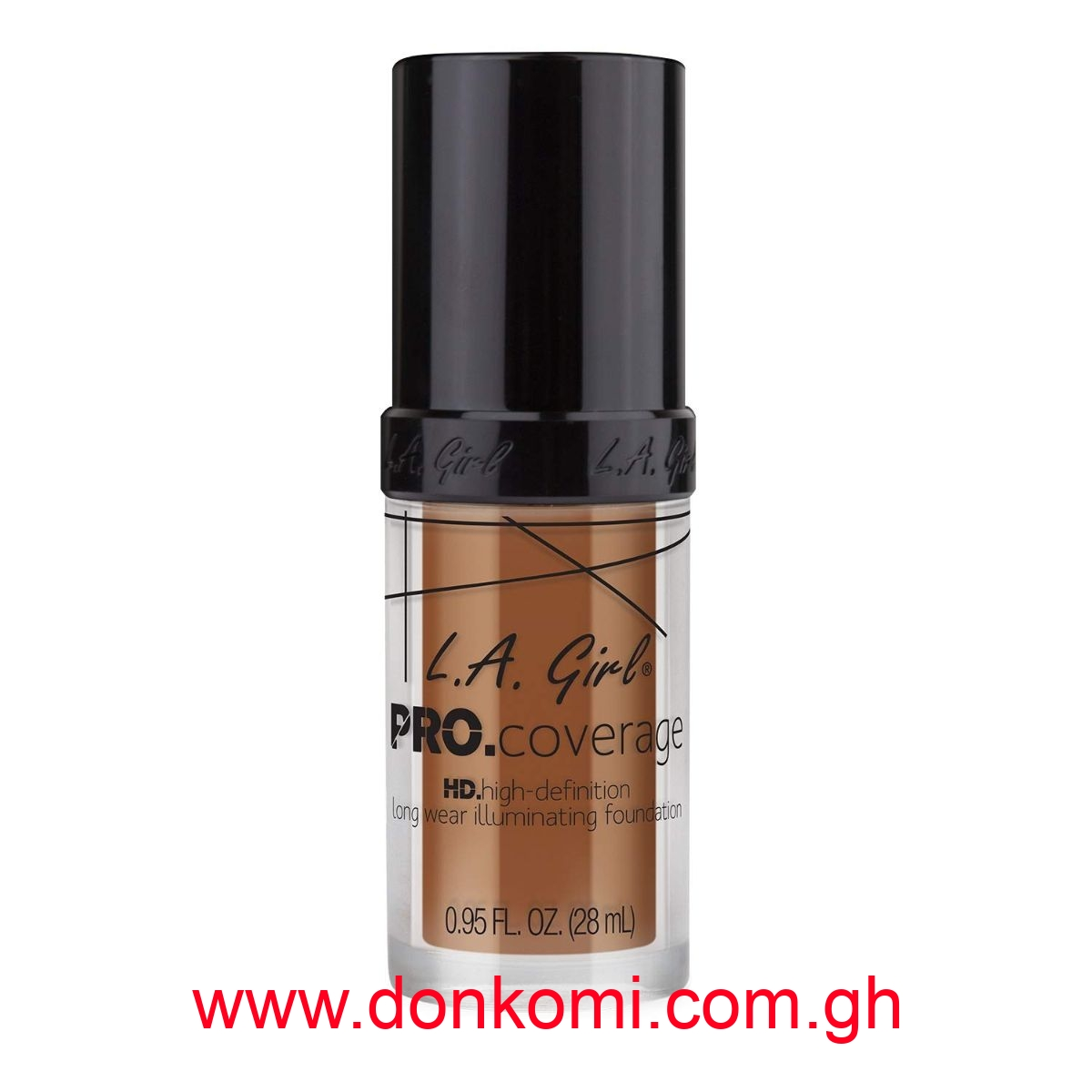 La Girl Pro Hd Illuminating Foundation-Coffee