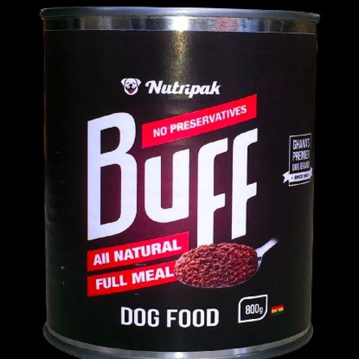 Nutripak Buff Dog Food (full Meal)