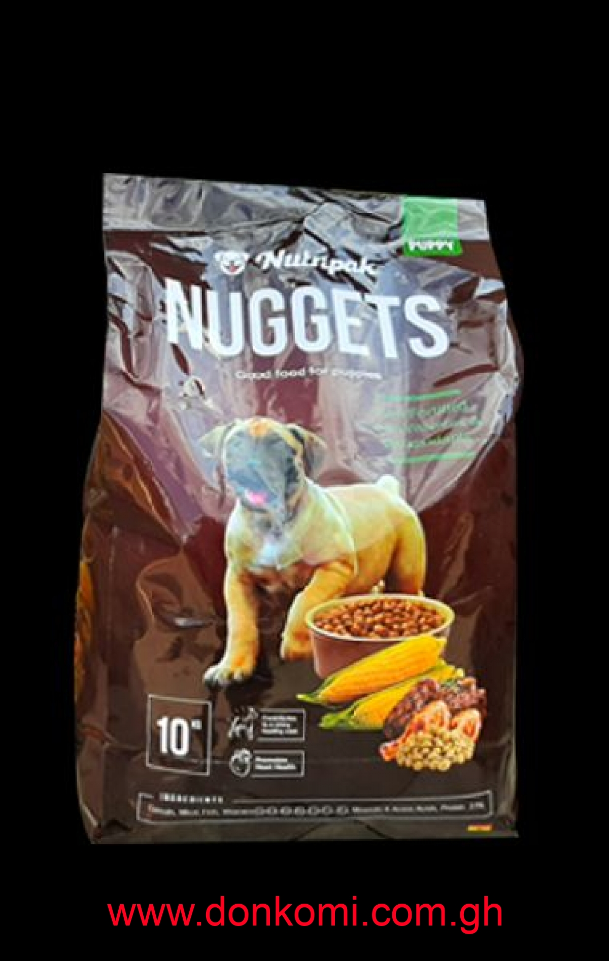 Nutripak Nuggets Puppy Dog Food (10kg)