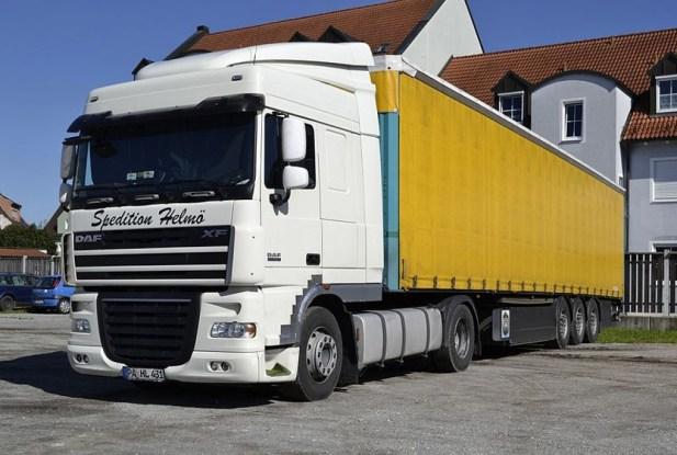 Daf Truck including trailer