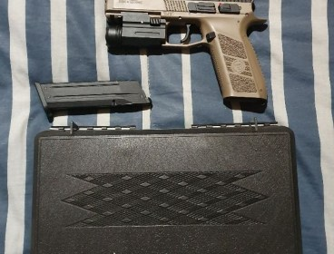 ASG P09 Black and Tan