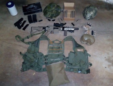 URGENT - Complete Airsoft kit