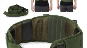 Molle tactical waist belt