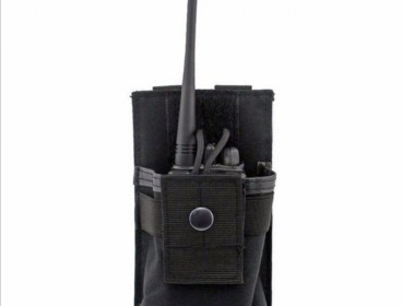 Radio pouch for molle