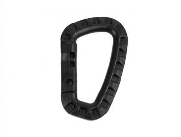 Plastic carabiner clips