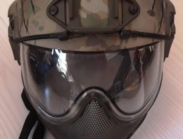 WARQ Helmet (Anti Fog)