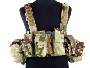 RARE LBX Tactical Lock and Load Chest Rig (Proj Honor Camo) - like new!