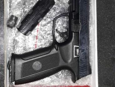 Limited Edition ICS Alpha Kryptek Slide Pistol