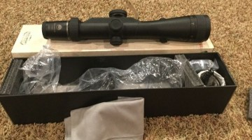 Burris Eliminator III 4-16x50 Laser X96 Reticle Scope