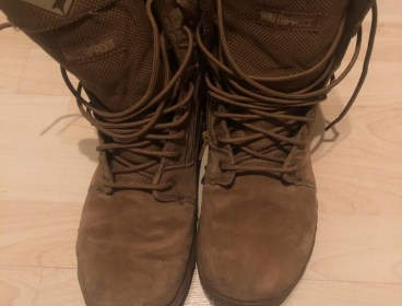 "Condor Richards 9"" Side-Zip Tactical Boot - Coyote Brown"