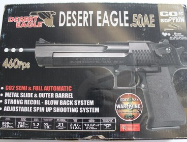 Airsoft Magnum Research Desert Eagle CO2