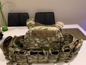 Warrior Assault System DCS plate carrier