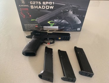 KJ Works - CZ 75 SP-01 Shadow