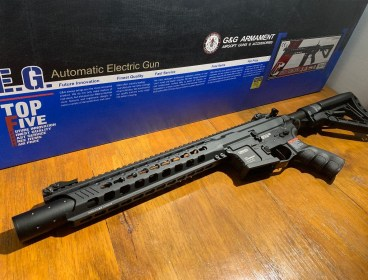 "Customized G&G GC16 ""Predator"" AEG"