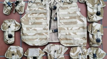 BRITISH ARMY MODULAR TACTICAL LOAD CARRYING VEST