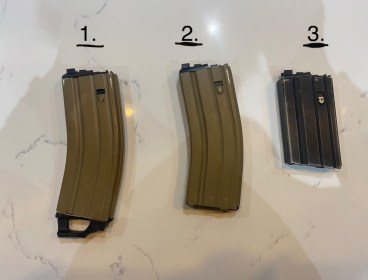 WE GBB v2 gas magazines