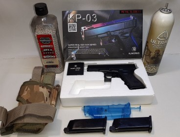 KJ Works KP03  Airsoft Pistol