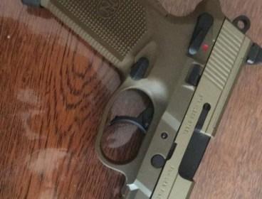 Cybergun/VFC FNX45T FDE (Tan)