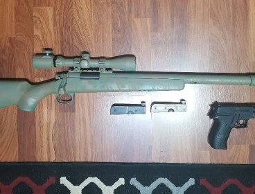 Airsoft Sniper VSR (Fully Upgraded)