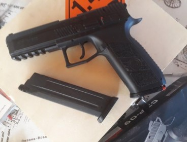 CZ P09 KJW with 2 Mags + Holster