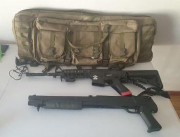 Full Kit and Guns
