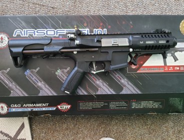 G&G EGC-ARP-9MM-BNB-NCM ARP9 Carbine Airsoft Rifle