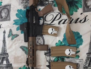 Various rifles