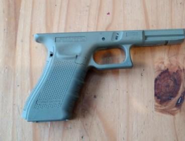 Full size glock frame