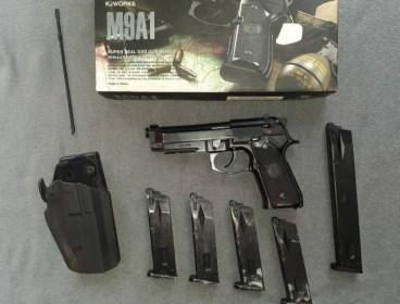 KJWORKS M9 GBB Pistol