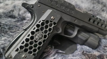 WE-Tech 1911 Hex Cut GBB Pistol