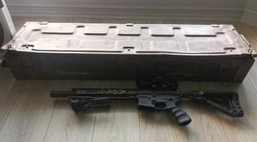 Military rifle box 1941