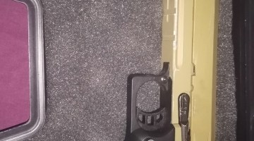 SRC high cappa with one mag and hard case