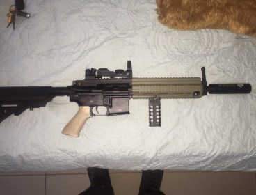 M416 for sale R2500. Lipo 11.1 with deans.